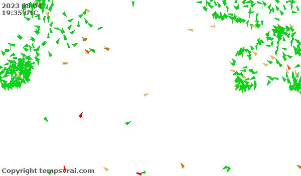 Aktuelle Messwerte für Indischer Ozean Süd