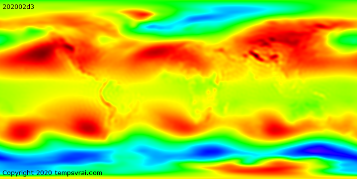 Klimadekaden Luftdruck