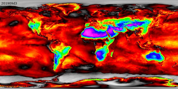 Klimadekaden Relative Feuchte