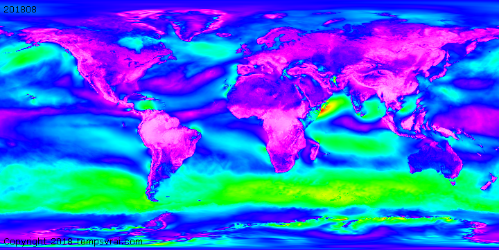 Weather history - Wind speed at 1000 hPa