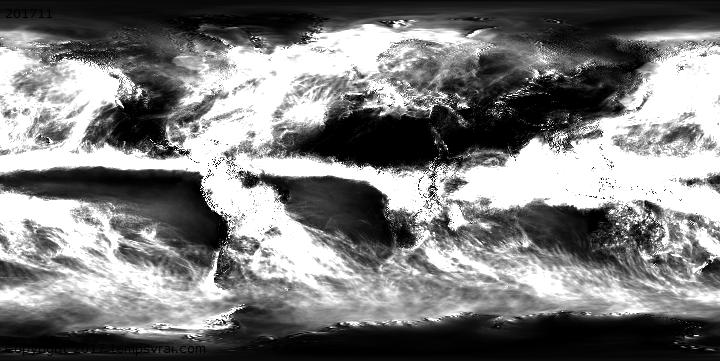 Wetterhistorie Advektiver Niederschlag
